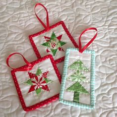 Make it Today: Christmas in July - pretty ornaments