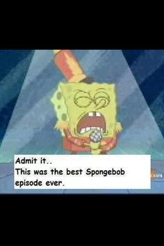 Best Spongebob scene