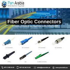 Pan Arabia will carry out wide range of services for expanding LAN/WAN and communication market place through the provision of network design, installation and commissioning services. Building Management System, Fiber Optic Connectors, Vehicle Tracking System, Network Switch, Fiber Optic Cable, Control System, Communication