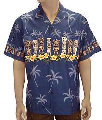 22a172f6e Mens Authentic Hawaiian Shirt Tiki C-451 Surf Store, Diving, Hawaiian,  Surfing