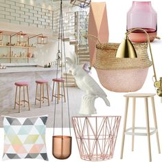 Interior-Inspiration mit Frühlingsfarben. Helle Farben, Pastell und schöne neue Dinge für die vier Wände auf www.amazedmag.de