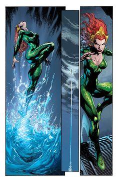 Aquaman #12 - Mera - Art by Ivan Reis & Joe Prado.