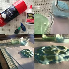 Easy, two-ingredient puffy paint for kids. Dries puffy, so you get a cool 3D effect when it dries. Click for recipe:
