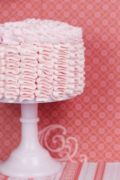 Objetivo: Cupcake Perfecto.: Ruffle cake de vainilla sin gluten con crema de frambuesa (¡¡y con paso a paso!!)