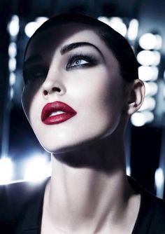 Megan Fox Giorgio Armani Beauty Ad Campaign upcoming ideas for beauty story Giorgio Armani Beauty, Glam Makeup, Eye Makeup, Hair Makeup, Armani Makeup, Dramatic Makeup, Glamorous Makeup, Girls Makeup, Gorgeous Makeup