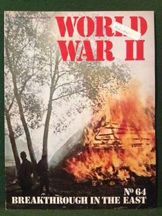 World War II Magazine Orbis Publishing 1973 Vol 5 No.64 Breakthrough In The East