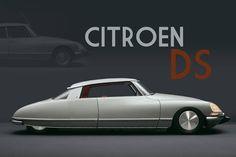 Citroen DS. Had no idea a 2-door version existed!