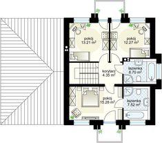 Kastor II G2 projekt - Floor 59.33 m²