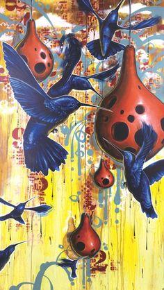 Blaine Fontana hummingbirds
