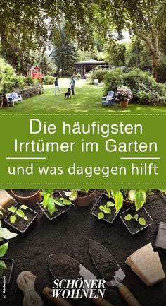 Ein Garten macht Arbeit, kostet und schön ist er nur im Sommer. Stimmt nicht - wir räumen mit diesen Irrtümern auf! #garten #draußen #pflanzen #frühblüher
