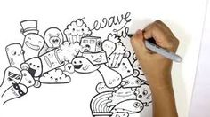 easy doodle characters - Google Search