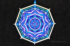 Mandala de 8 puntas tejido con hilo de algodón puro egipcio ❥ Para interior y también poder llevarlo a exteriores para disfrutar/meditar con tu mandala. Dependiendo de como lo coloques y la Luz/Sol que le dé, encontrarás matices e inspiración diferente y extraordinaria... que te ofrecerá Paz y Serenidad al instante. + Descripción en web ツ #talisman #meditación #relajación #mandalas #creatividad #color #luz #serenidad #unidad #protección #magia #decoración #espitritualidad #arte #ArteSano
