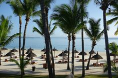View from room at Saint Geran, Mauritius