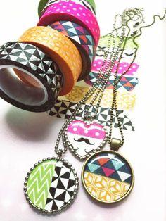 DIY - Washi tape jewelry