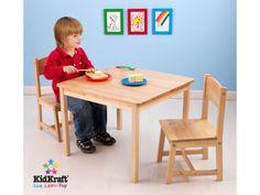 Miza s stolčki Aspen - natur Kidkraft  Več na www.staskka.com