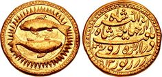 CNG: Printed Auction Triton XIX. INDIA, Mughal Empire. Nur al-Din Muhammad Jahangir. AH 1014-1037 / AD 1605-1627. AV Mohur (22mm, 10.83 g, 2 or 8h). Zodiac Type, Class A. Agra mint. Dated AH 1028 (19 December AD 1618-7 December AD 1619) and RY 13 (15/24 October AD 1617 – 14