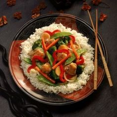5 Gluten-Free, Dairy-Free Stir-Fry Combos for Dinner Tonight #glutenfree