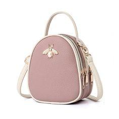 Luxury Handbags Women Bags Designer Ladies  Pu Leather Shoulder Bag for  Women Bee Decoration Famous Brands Tote c75ff583bb73b