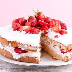 Strawberry Shortcake With Cream Recipe