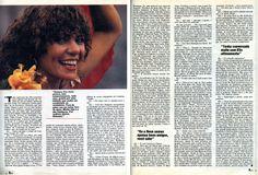 """Elba Ramalho - """"Meu Destino Eu Mesma Traço"""" - da revista """"Manchete"""" 1984 - página 2/2."""