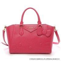 Samantha Thavasa Vega x Hello Kitty Azayle Tote Shoulder Bag Pink Large JAPAN Online Shop / Online Store - 01