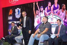CDMX recibirá dos juegos de la NBA de temporada regular