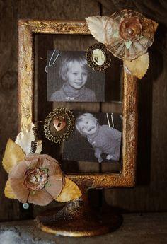 Altered Frame by Stina Westbom - C'est Magnifique January 2015 Kit