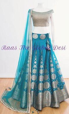 37 Best Bridal Blouse Designs photos by jeetudhakouliya Indian Fashion Dresses, Indian Bridal Outfits, Indian Gowns Dresses, Dress Indian Style, Indian Designer Outfits, Indian Lehenga, Half Saree Lehenga, Lehenga Blouse, Bridal Lehenga Choli