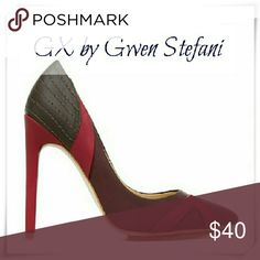 👠🍭GX by Gwen Stefani Yaro heels.🍏 Details: heel 4, fits narrow.  🌟Please use only ✔OFFER 👈 button for all price negotiations. I'll do 👉🍓a price drop⤵ for you for discounted shipping, if we agree about the price. GX by Gwen Stefani Shoes Heels