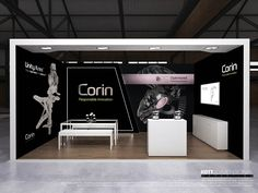 Custom 6x3 booth for Corin at COMOC 2016.
