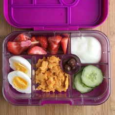 Well balanced Weekly Lunch Box Ideas for your Little Grazers Chocolate Raisins, Chocolate Strawberries, Boiled Eggs, Original Recipe, Crackers, Cucumber, Lunch Box, Strawberry, Yummy Food