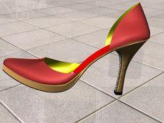 scarpe 3d