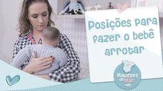 Posições para fazer o bebê arrotar (com uma dica que é infalível!)