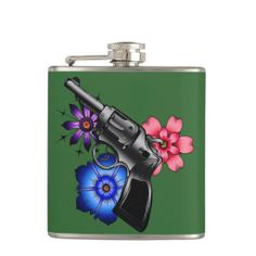 >>>Order          gun with flowers hip flask           gun with flowers hip flask This site is will advise you where to buyThis Deals          gun with flowers hip flask lowest price Fast Shipping and save your money Now!!...Cleck link More >>> http://www.zazzle.com/gun_with_flowers_hip_flask-256782845525955069?rf=238627982471231924&zbar=1&tc=terrest