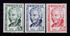 URUGUAY Chile writer Gabriela Mistral...