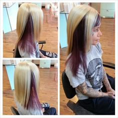 hair color splash