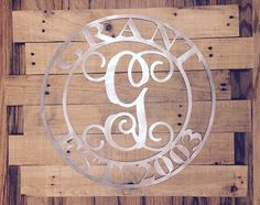 Wrought Iron Initials Wall Decor Endearing Wrought Iron Initials ...