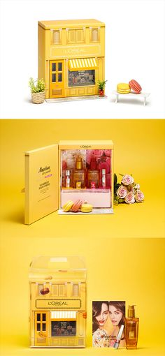 LOREAL - MACARON DE PARIS COLLECTIONVIP & PRESS KIT. If you want to customize a packaging, visit our website: www.unifiedmanufacturing.com Cool Packaging, Cosmetic Packaging, Beauty Packaging, Brand Packaging, Creative Box, Creative Design, Cosmetic Design, Cosmetic Kit, Pop Design