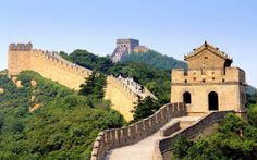 History: This is a picture of the Great Wall of China. It was built for defence. It is the longest structure ever built against enemies. It is not one long wall but a system of many walls built over 2,000 years ago.