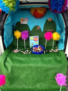 Dr. Seuss' The Lorax Trunk or Treat for Halloween