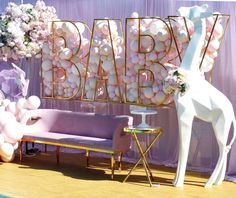French Home Decor .French Home Decor Deco Baby Shower, Baby Shower Balloons, Girl Shower, Baby Shower Themes, Shower Ideas, Cheap Wall Decor, Cheap Home Decor, Hippie Home Decor, Home Decor Paintings