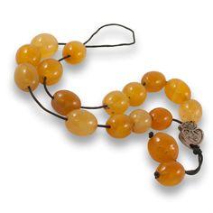 Honey Agate Gemstone Worry Beads $23.95