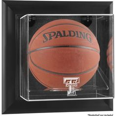 Texas Tech Red Raiders Fanatics Authentic Black Framed Wall-Mountable Basketball Display Case - $119.99