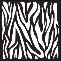 View Design #45728: zebra background