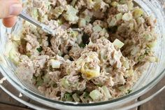 The Best Tuna Fish Salad Sandwich-my reaction when I tried this oh, my...that is really good, holy moly!