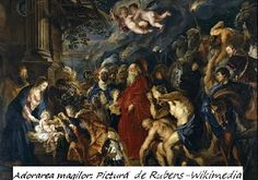 A Museum Quality Art Print of the Adoration of the Magi by Peter Paul Rubens. This canvas was painted by Peter Paul Rubens in the year Peter Paul Rubens, Pedro Pablo Rubens, Fra Angelico, Jesus Christus, Classic Artwork, Poster Prints, Art Prints, Great Paintings, Watercolor Paintings