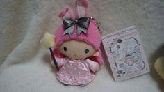 SANRIO LTS Little Twin Stars Plush Bag Charm Lala with Bunny Ears NWT