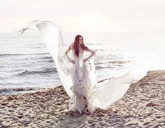Green Deisgner Leila Hafzi adorable Eco Wedding dresses