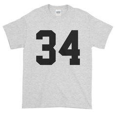 Team Jersey 34 Short sleeve t-shirt