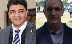 Jorge Macri y Salvador en el asado de radicales de Vicente López